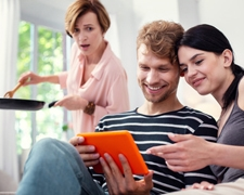 """Overinvolved? Signs You Might Be a """"Monster-in-Law"""""""